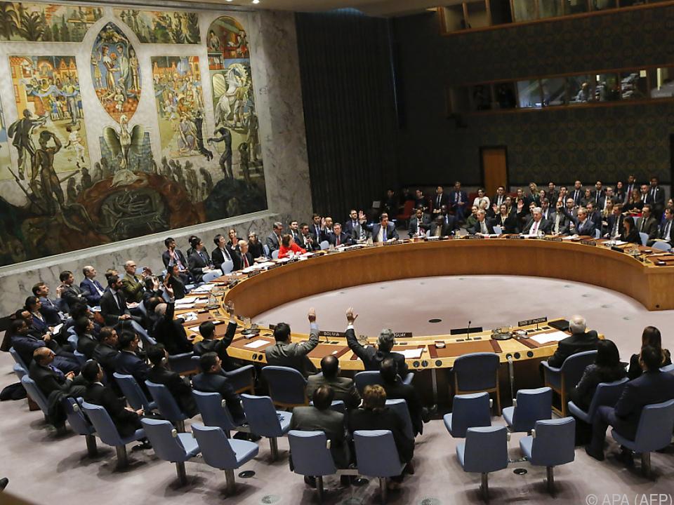 Abstimmung zu Jerusalem-Resolution