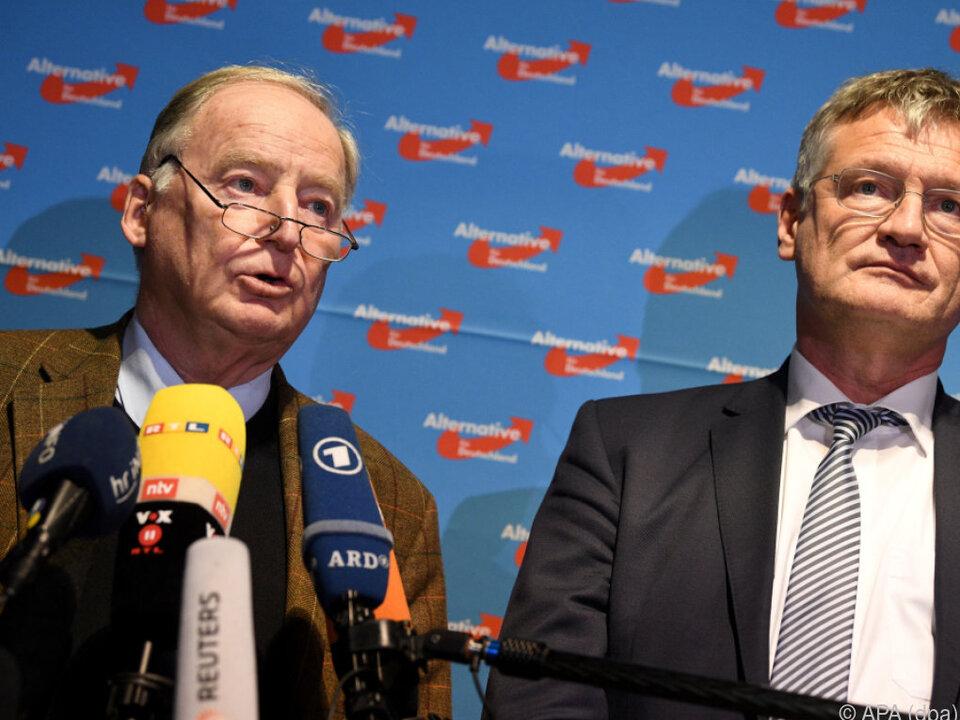 Alexander Gauland und Jörg Meuthen neue AfD-Doppelspitze