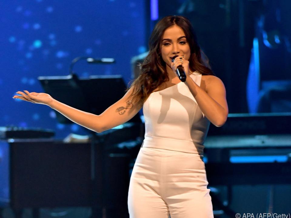 Anitta bei einem Auftritt in Las Vega
