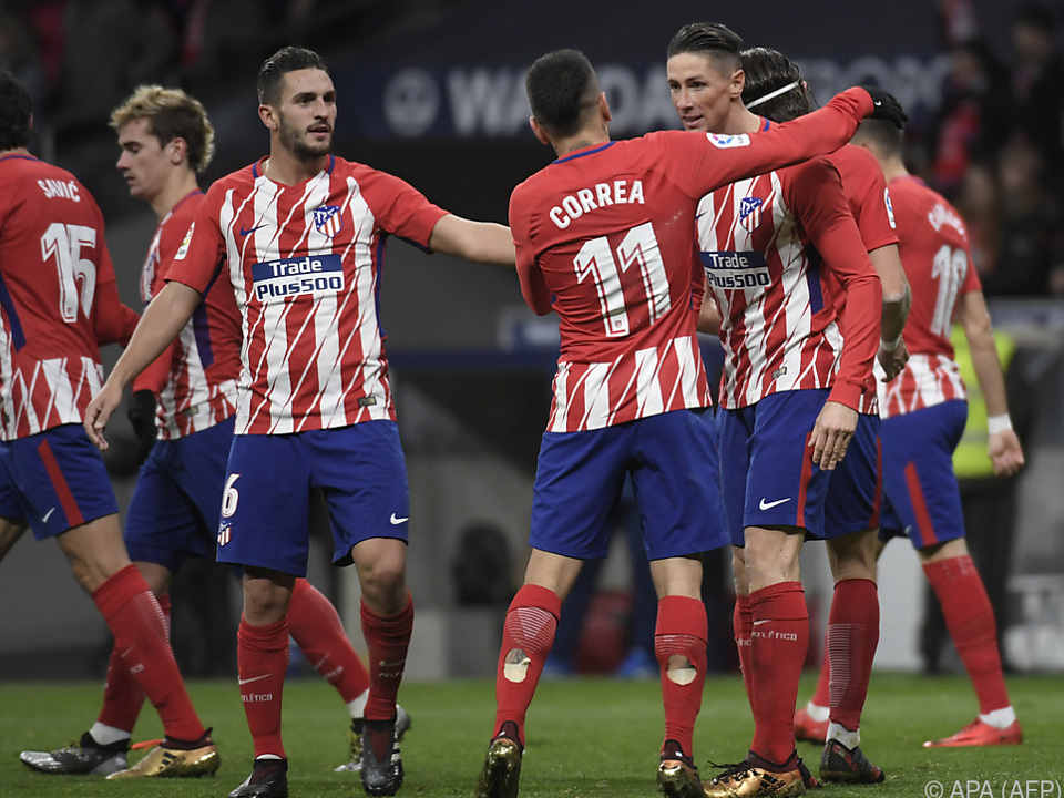 Atletico Madrid ist weiterhin unbesiegt