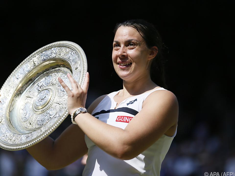 Bartoli siegte 2013 in Wimbledon