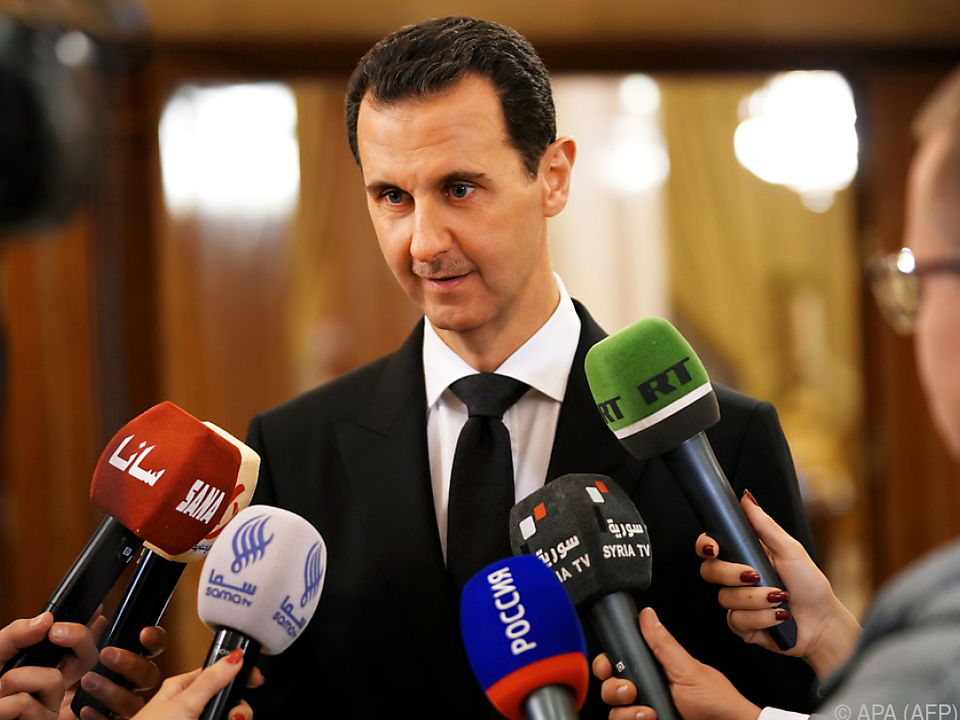 Bashar al-Assad sieht Franzosen als Kriegstreiber