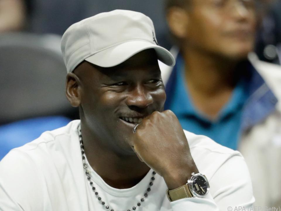 Basketball-Ikone Michael Jordan