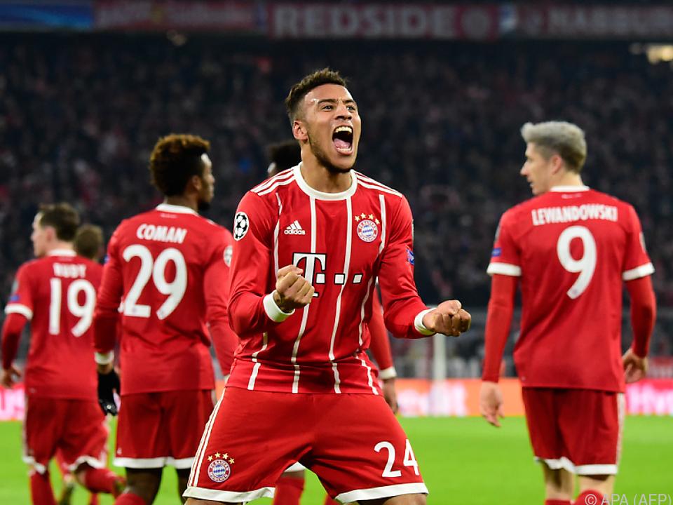 Bayern München musste sich in Gruppe B mit Rang zwei begnügen