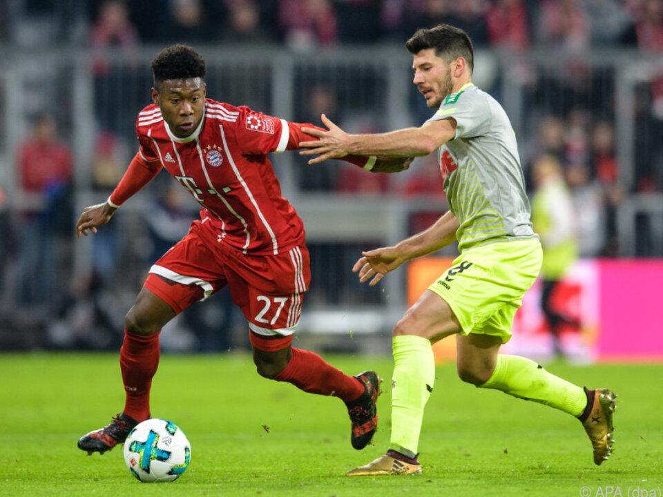 Bayern waren Köln klar überlegen