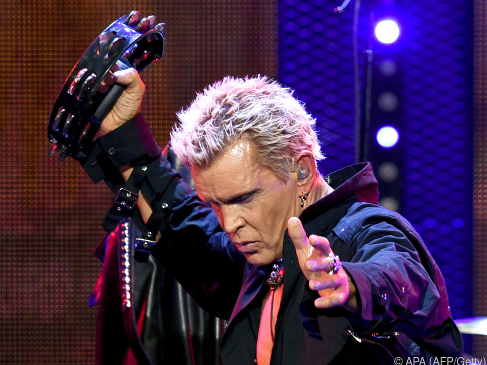 Billy Idol gastiert auf den Pannonia Fields