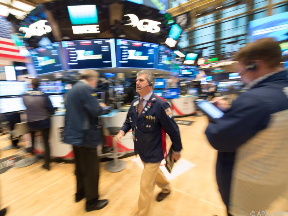 Börse in New Yorker Wallstreet