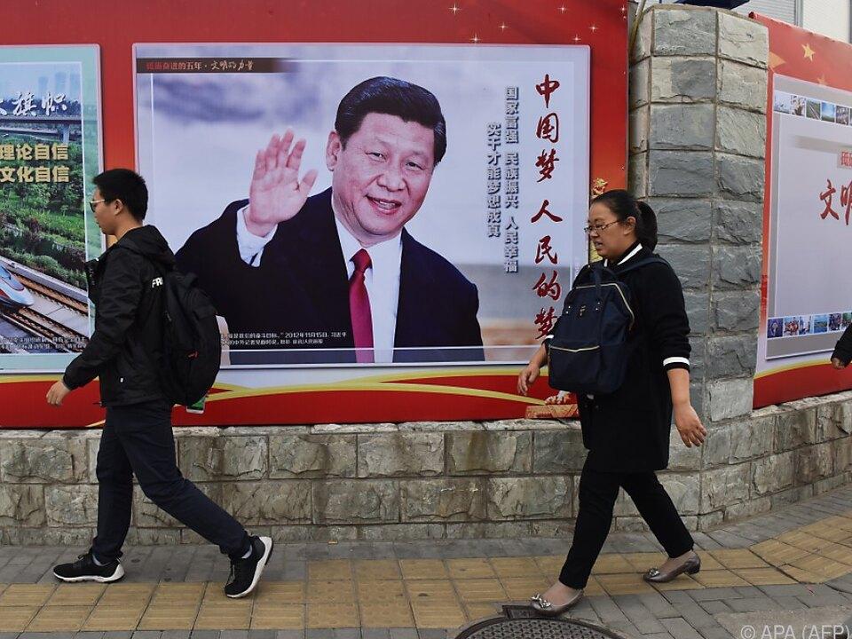 China wirft USA \