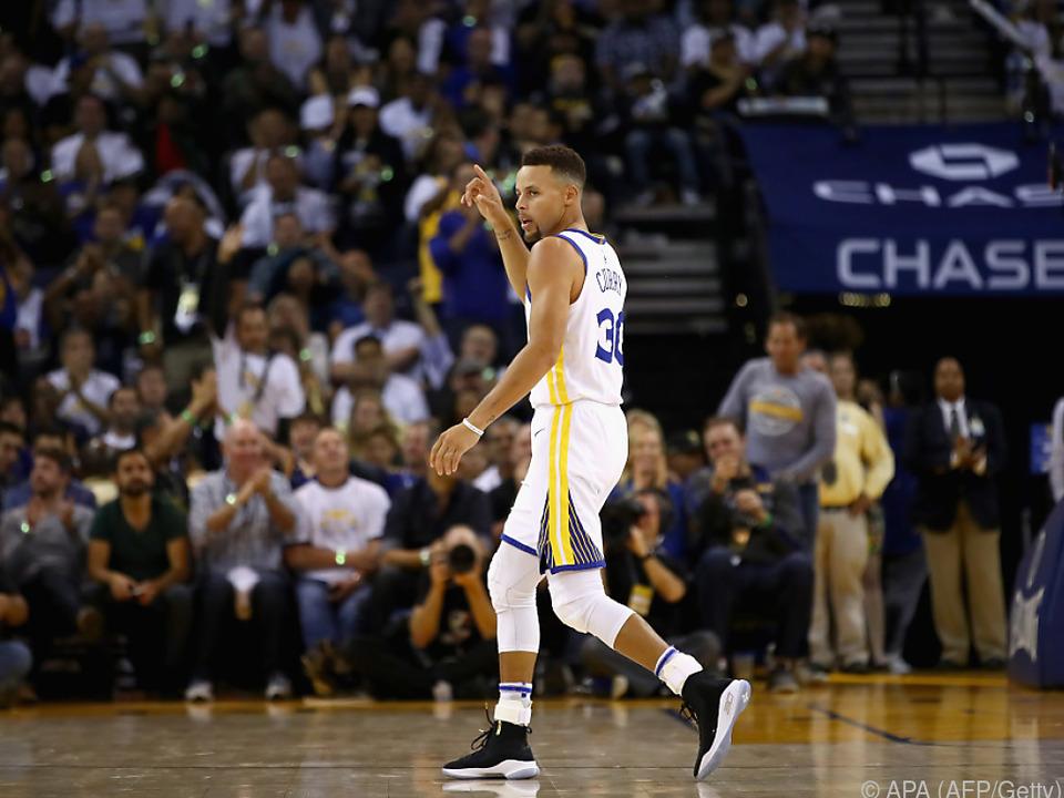 Curry musste vier Wochen pausieren