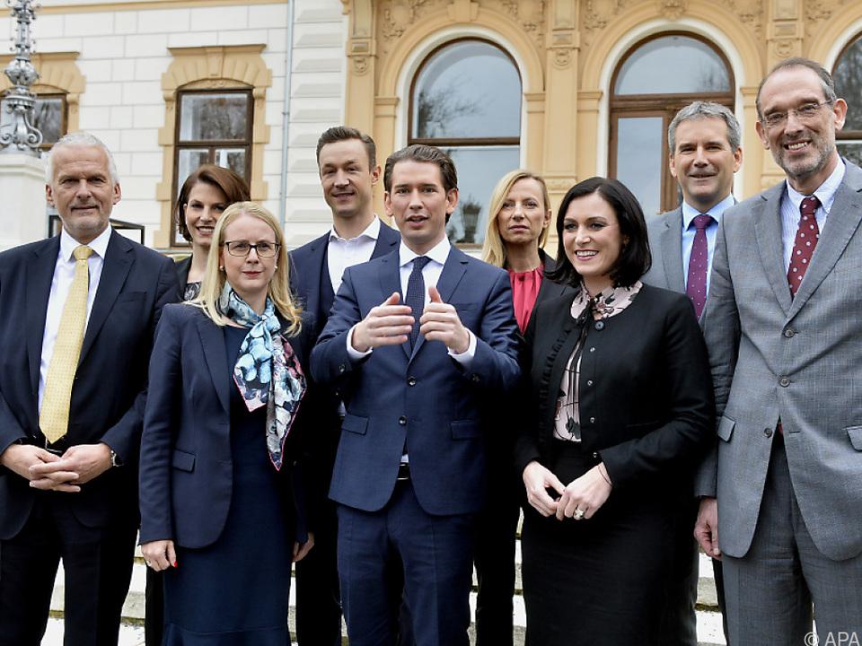 Das ist die neue ÖVP-Ministerriege
