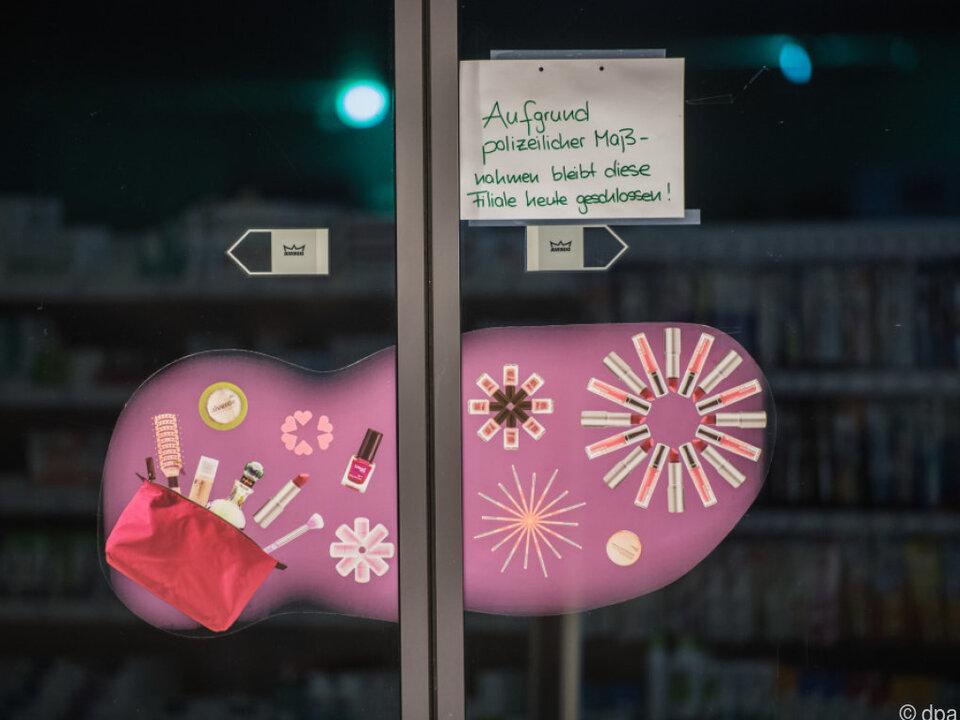 Der Drogeriemarkt in Kandel wurde vorübergehend gesperrt