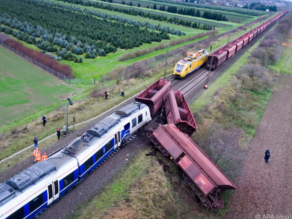 Der Personenzug hätte das Gleis nicht befahren dürfen