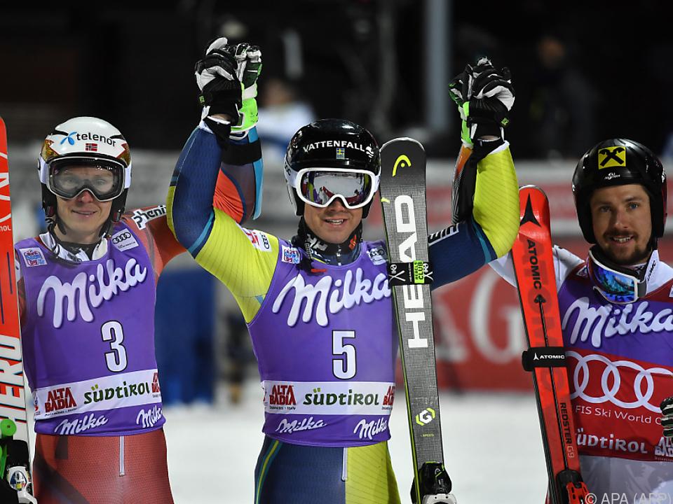 Der Sieg ging an den Schweden Matts Olsson