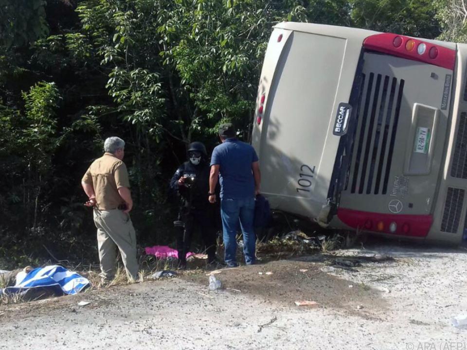 Der Unfall ereignete sich im Bundesstaat Quintana Roo