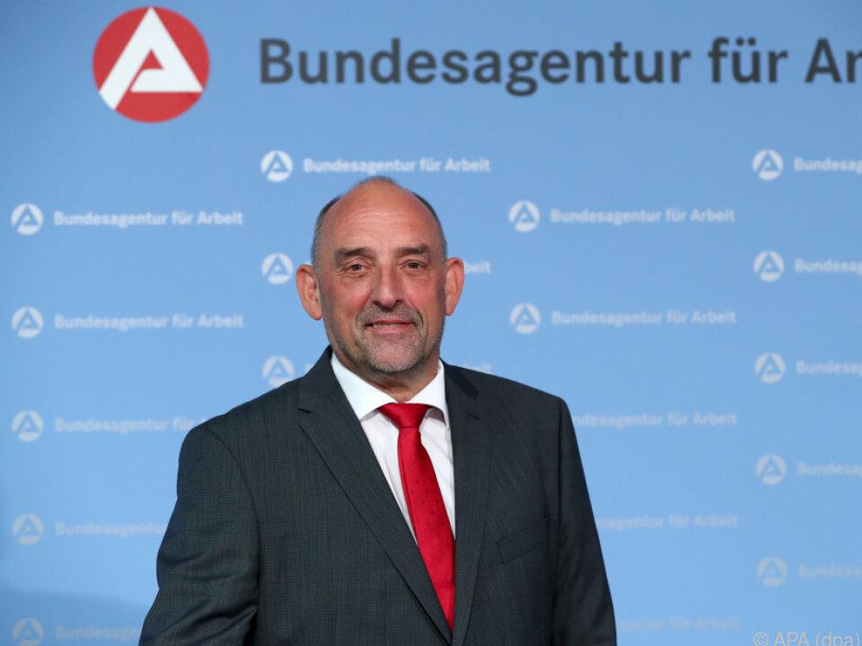 Detlef Scheele, Chef der Bundesagentur für Arbeit