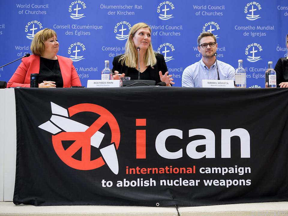Nobelpreise werden verliehen - Friedenspreis für Kampf gegen Atomwaffen