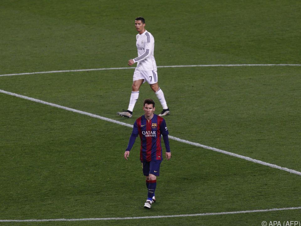 Die beiden besten aktiven Fußballer treffen wieder aufeinander