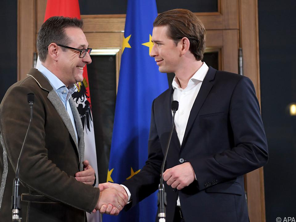Die beiden Parteichefs gratulieren einander