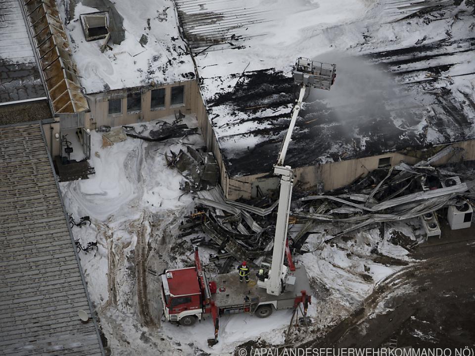 Die Explosion forderte ein Todesopfer