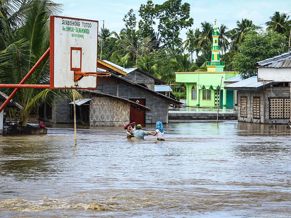 Die meisten Menschen starben durch Überschwemmungen