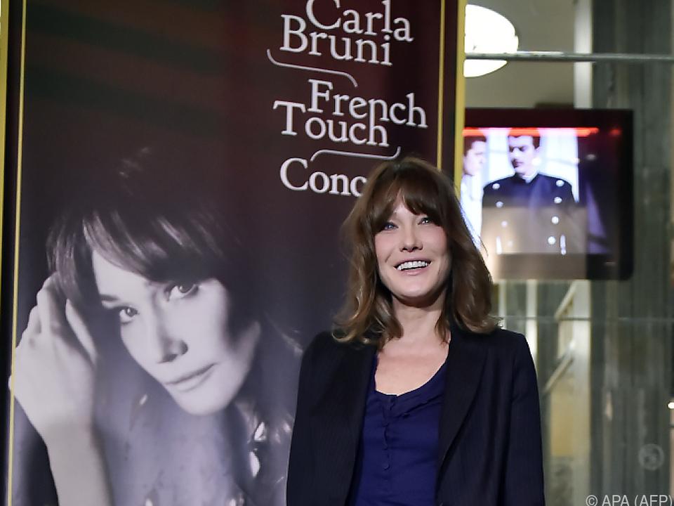 Die Sängerin ist mit Ex-Präsident Sarkozy verheiratet