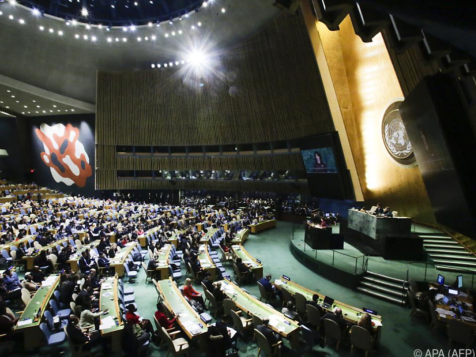 Die UN-Strafmaßnahmen bedeuten eine \
