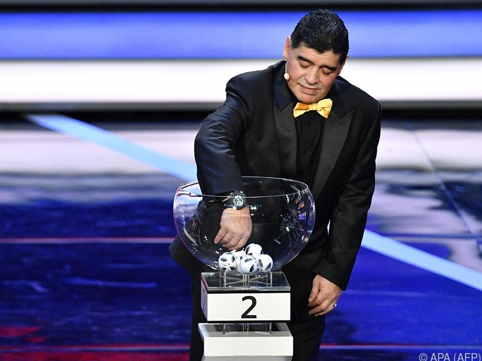Diego Maradona war die Glücksfee