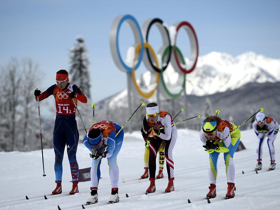 Diesmal waren russische Langläuferinnen an der Reihe