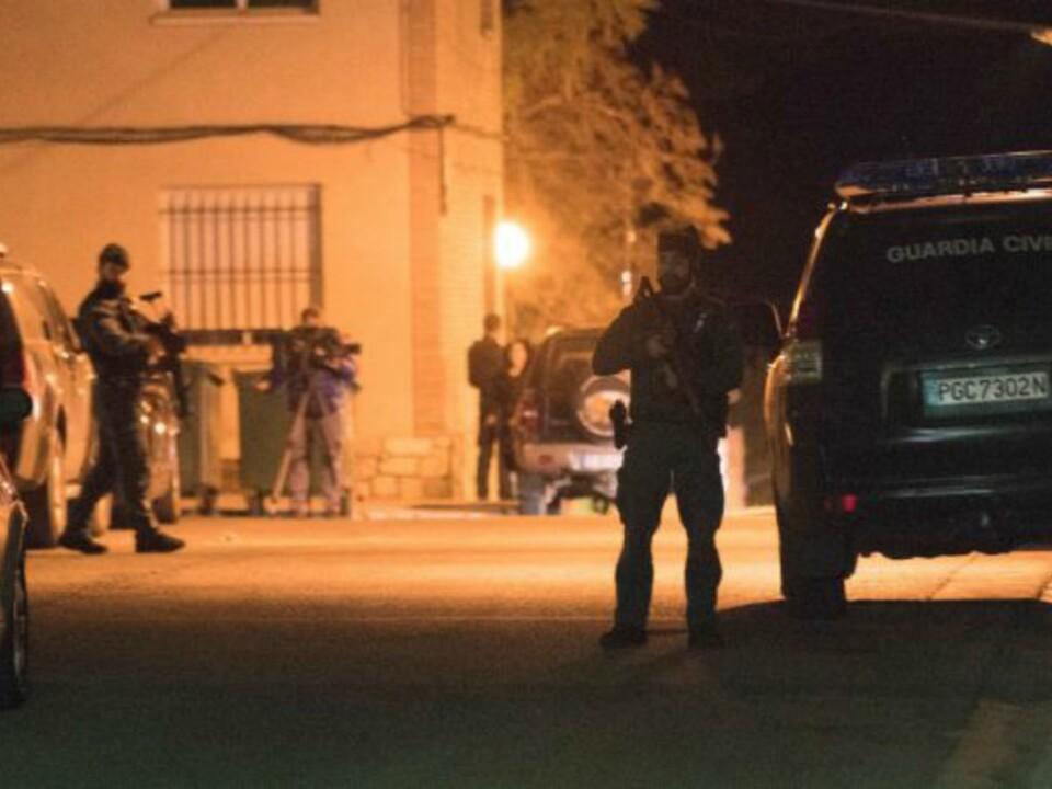Twitter/Guardia Civil - Verhaftung Norbert Feher