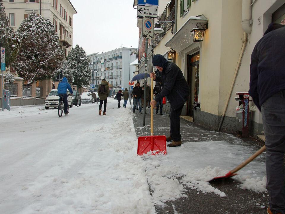schnee bozen räumung