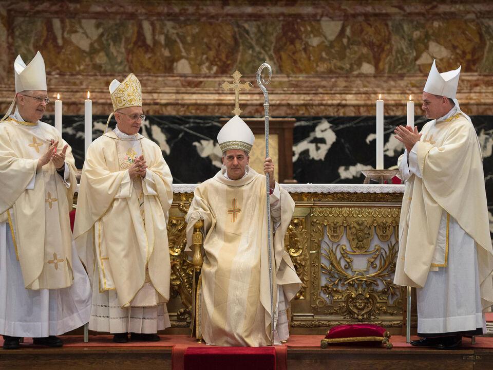 Bischofsweihe von Giovanni Pietro Dal Toso