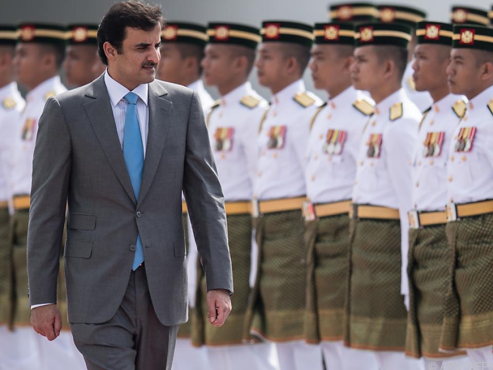 Emir von Katar nimmt erstmals wieder an den Sitzungen teil
