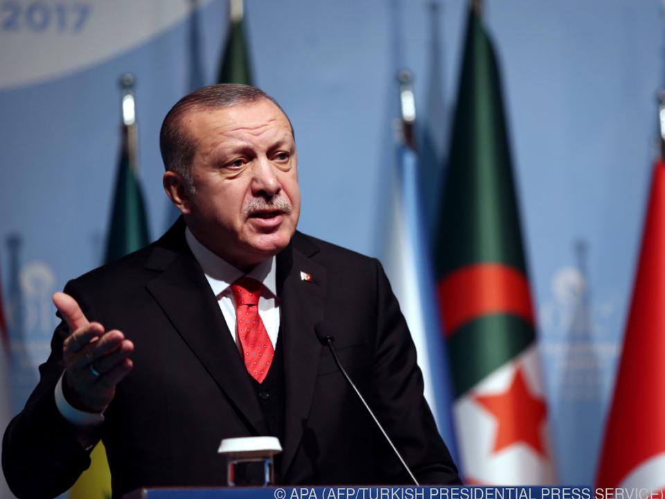 Erdogan legt sich weiter mit den USA und Israel an