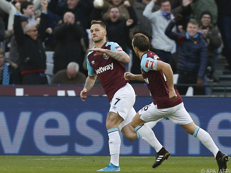Erster Treffer des ÖFB-Stürmers für West Ham
