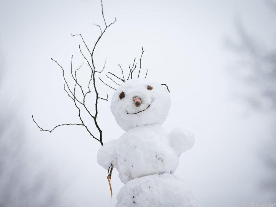 Es bleibt winterlich
