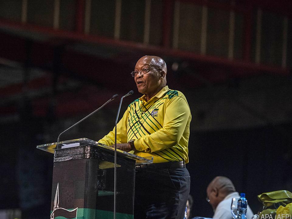 Es geht auch um Zumas Nachfolge als Präsident