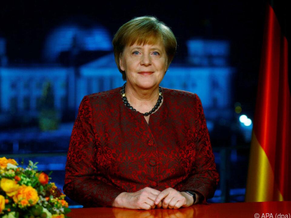 Es ist bereits Merkels 13. Rede zum Jahresende