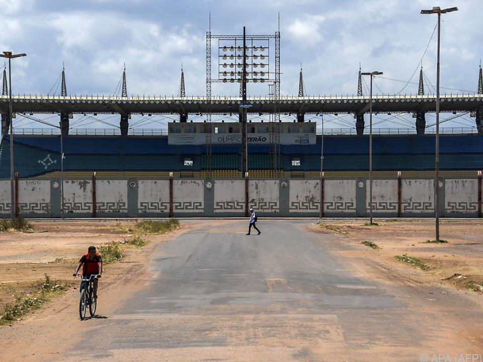 Es ist eines der ungewöhnlichsten Fußballstadien der Welt