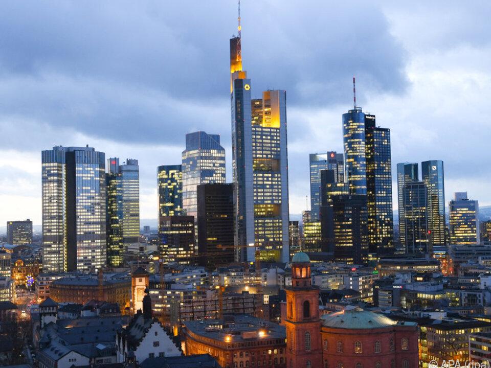 Europäisches Bankenzentrum Frankfurt ezb