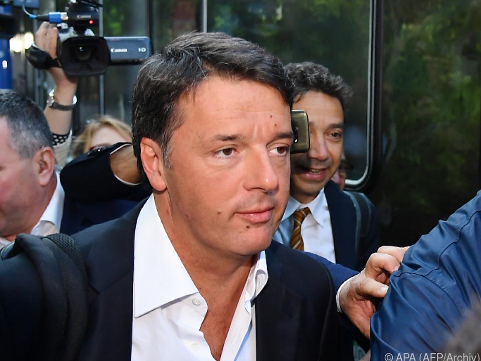 Ex-Premier Matteo Renzi zog positive Bilanz