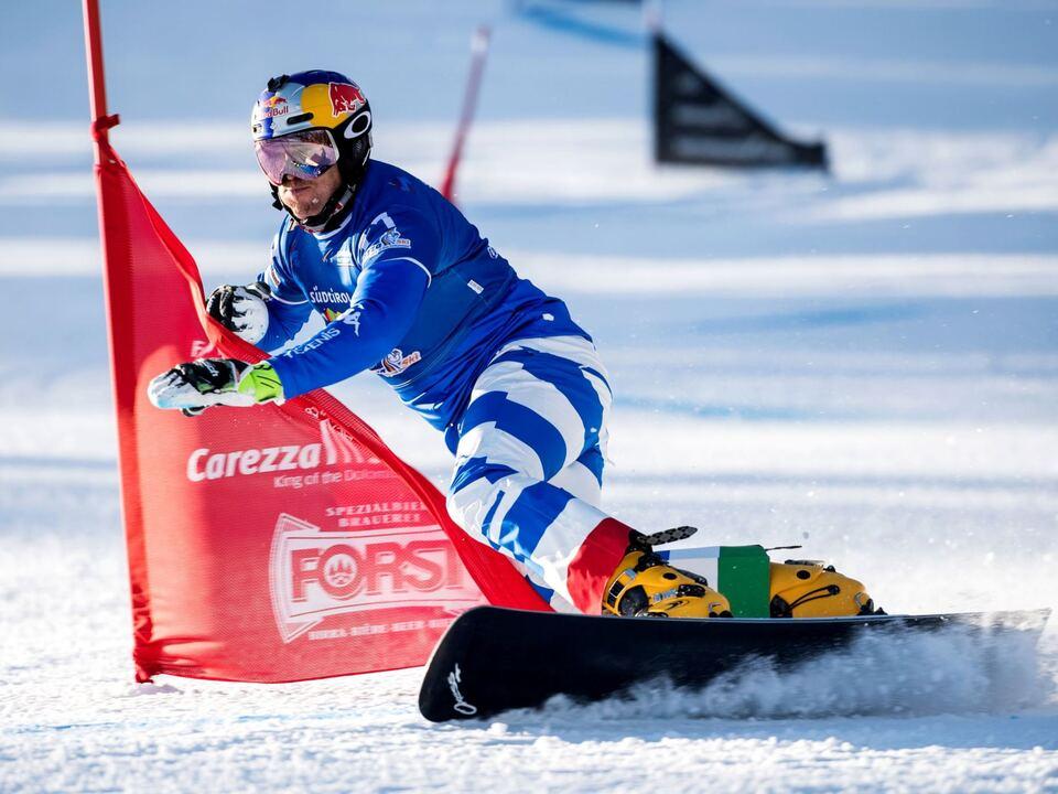 FIS Snowboard World Cup - Carezza ITA FISCHNALLER Roland