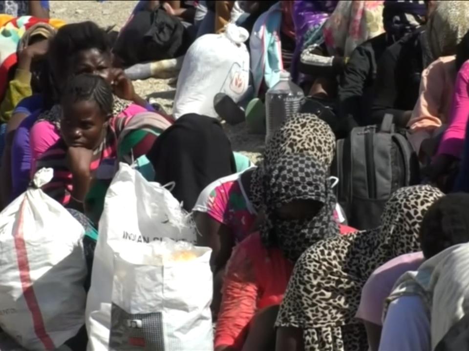 Flüchtlingskrise in Libyen