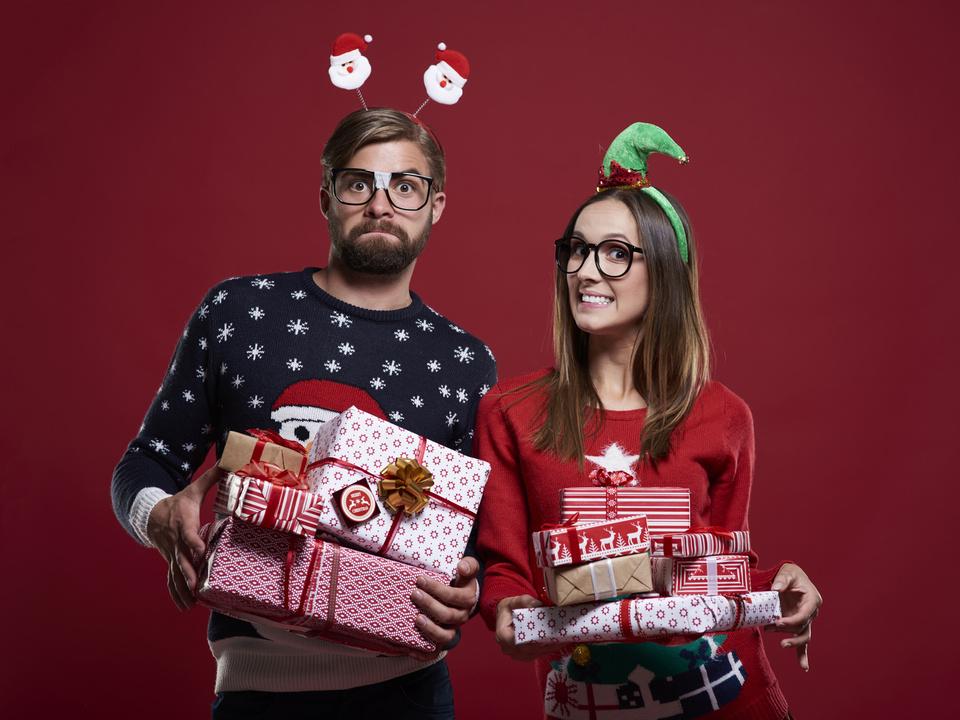 Weihnachten Kitsch
