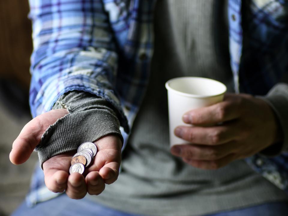betteln bettler obdachlos