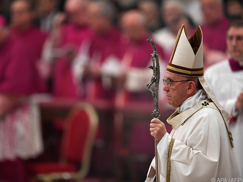 Papst feiert Christmesse im Petersdom