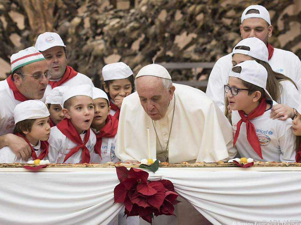Franziskus feierte zum fünften Mal Geburtstag als Papst