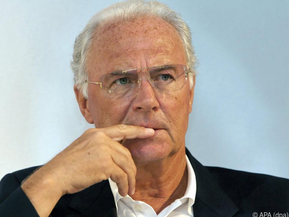 Gegen Beckenbauer wird in der Schweiz ermittelt