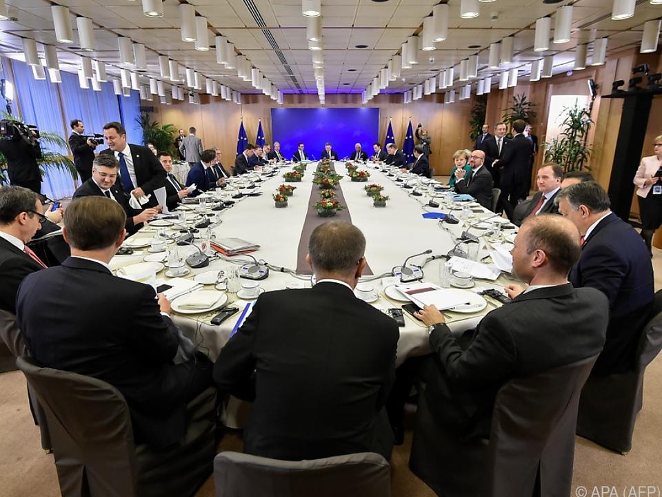 Gespräche in Brüssel werden fortgesetzt