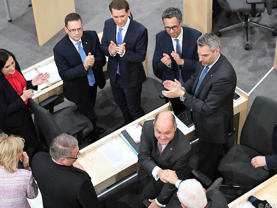 Gratulation an den neuen Nationalratspräsidenten Wolfgang Sobotka