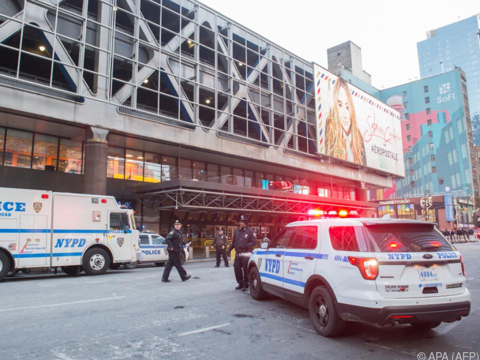 Großeinsatz für die NYPD